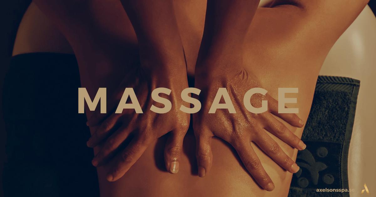 Mors dag present upplevelse Massage