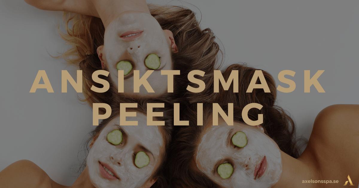 Peel off - Ansiktsmask peeling